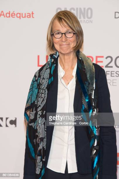 French Minister of Culture Francoise Nyssen attends the Opening Ceremony of the 9th Film Festival Lumiere on October 14 2017 in Lyon France