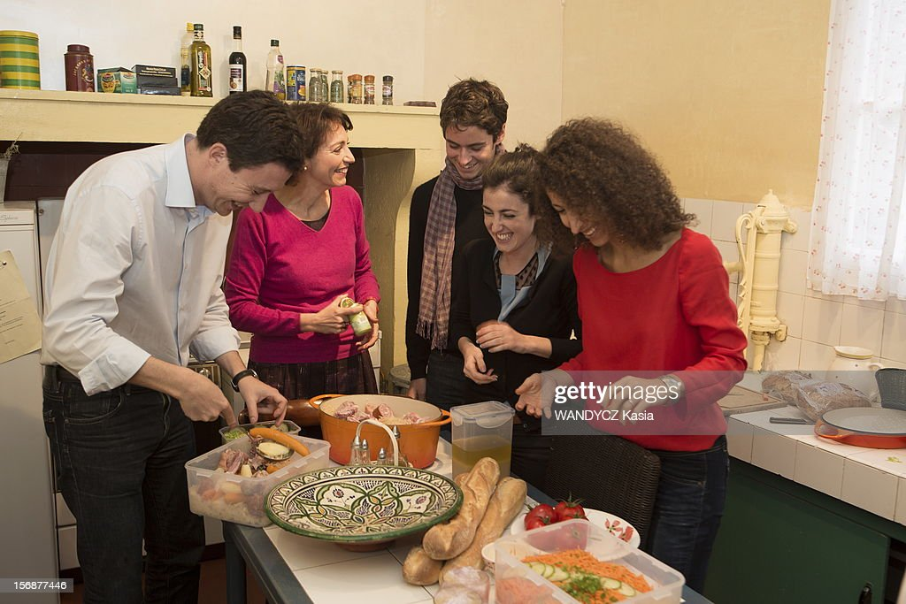 Marisol touraine at home in burgundy getty images - Cabinet de marisol touraine ...