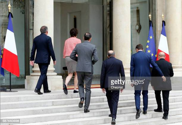 French Minister of Justice Francois Bayrou French Minister of the Armed Forces Sylvie Goulard French Prime Minister Edouard Philippe French Minister...