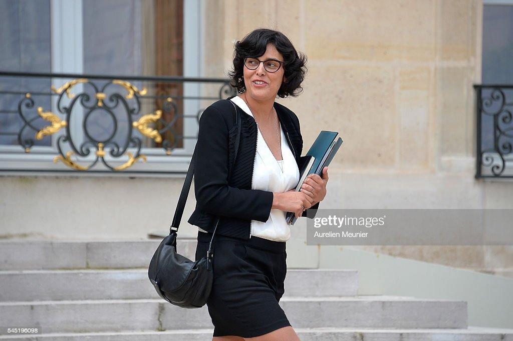 Conseil Des Ministres At Elysee Palace In Paris