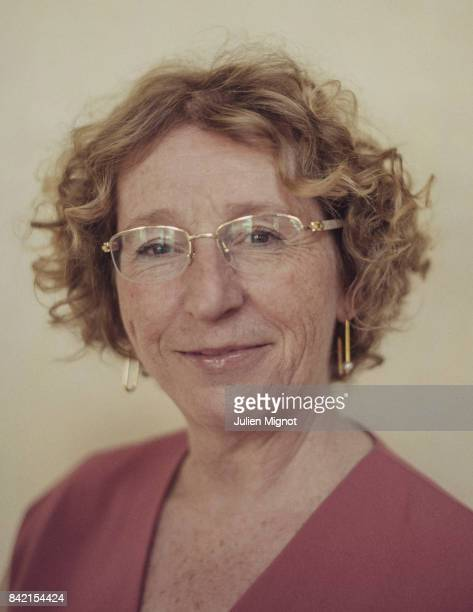 French Minister of Labour Muriel Penicaud is photographed for L'Obs on August 23 2017 in Paris France