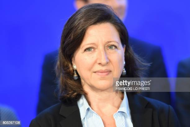 French Minister of Solidarity and Health Agnes Buzyn attends a governmental seminar in Nancy on July 1 2017 / AFP PHOTO / François LO PRESTI