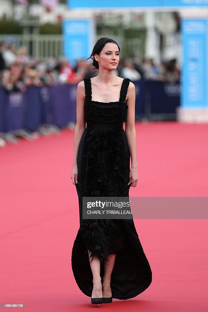 French model and actress Loan Chabanol arrives on the red carpet ...