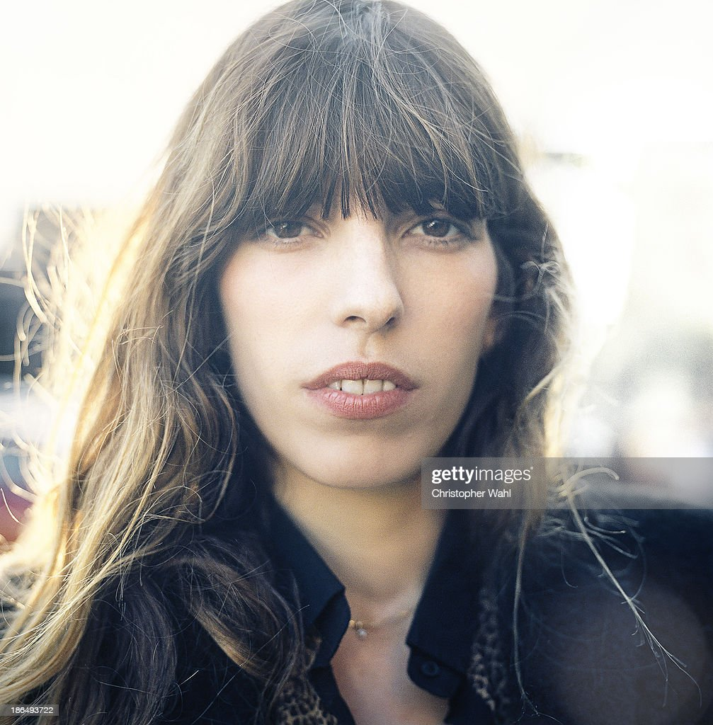 French model and actress <a gi-track='captionPersonalityLinkClicked' href=/galleries/search?phrase=Lou+Doillon&family=editorial&specificpeople=208822 ng-click='$event.stopPropagation()'>Lou Doillon</a> is photographed for Self Assignment on October 13, 2013 in Toronto, Ontario.