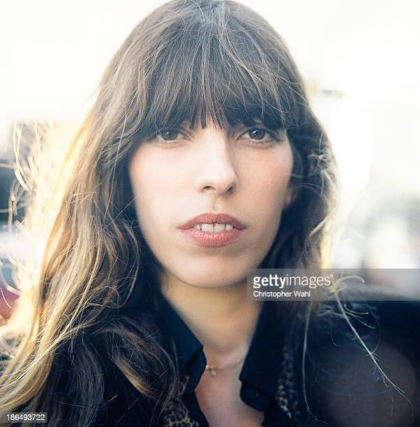 French model and actress Lou Doillon is photographed for Self Assignment on October 13 2013 in Toronto Ontario