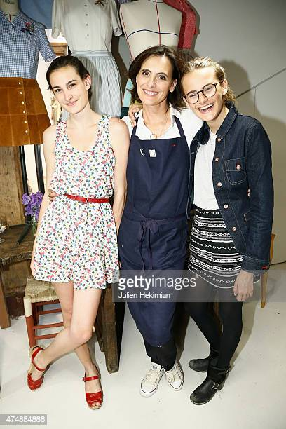 Ines De La Fressange;Her Daughter Nine Stock Photos and Pictures ...
