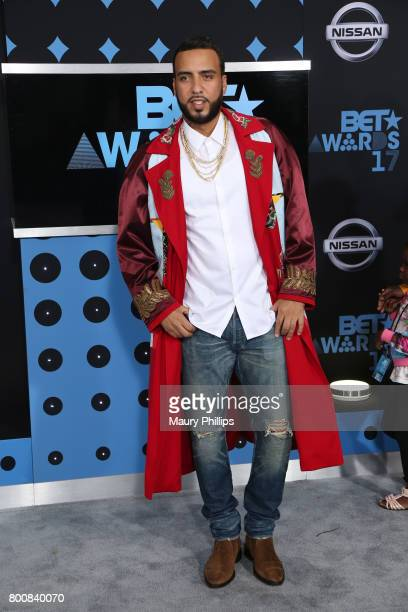 French Montana at the 2017 BET Awards at Microsoft Square on June 25 2017 in Los Angeles California