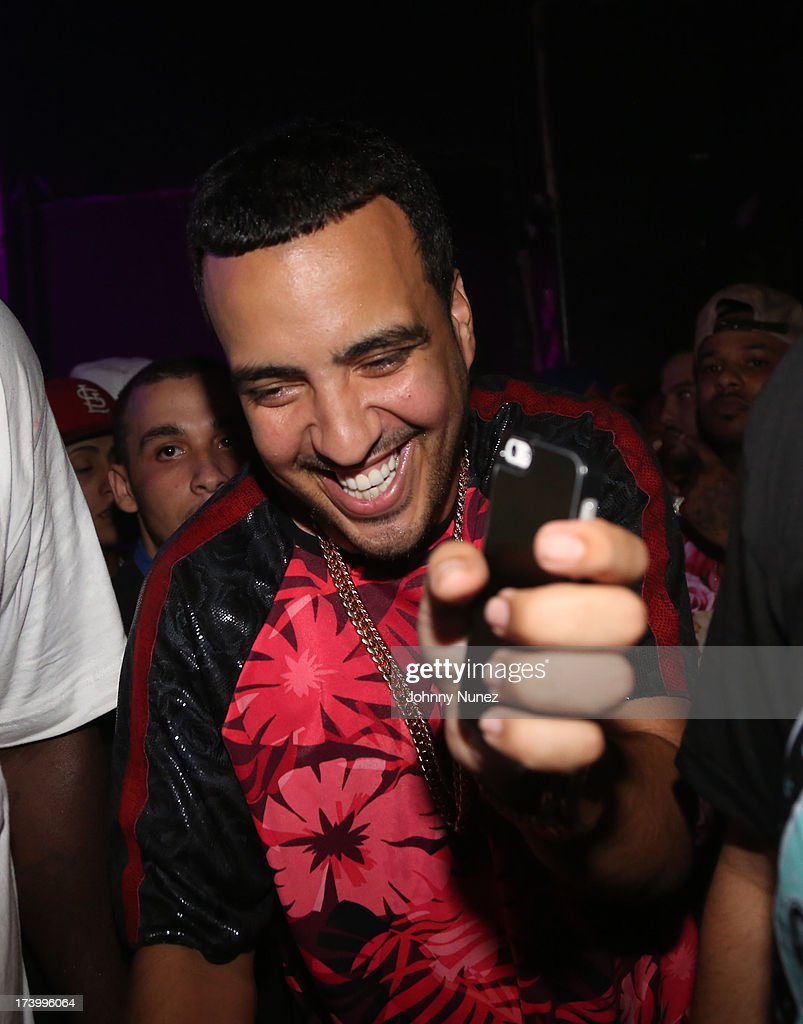 <a gi-track='captionPersonalityLinkClicked' href=/galleries/search?phrase=French+Montana&family=editorial&specificpeople=7131467 ng-click='$event.stopPropagation()'>French Montana</a> attends Ace Hood Album Release Party at Webster Hall on July 18, 2013 in New York City.