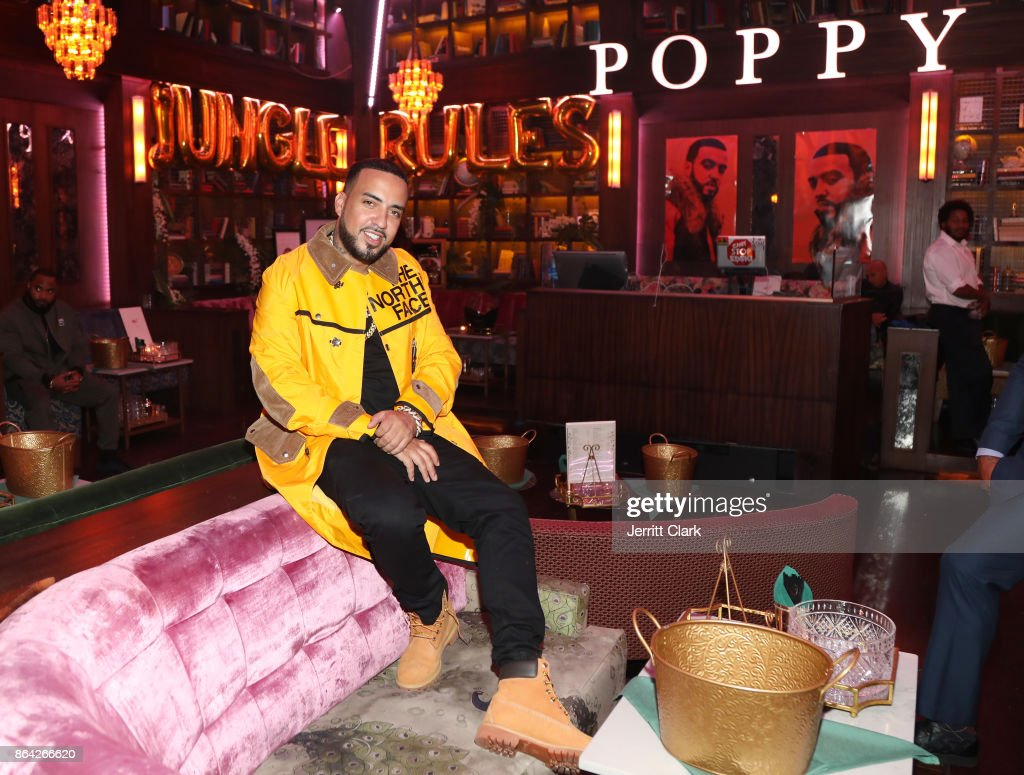 French Montana attends Ciroc & Epic Records present French Montana 'Jungle Rules' Gold Dinner at Poppy on October 20, 2017 in Los Angeles, California.