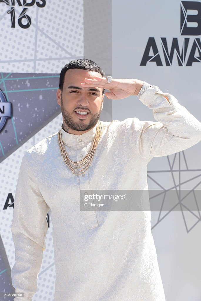 <a gi-track='captionPersonalityLinkClicked' href=/galleries/search?phrase=French+Montana&family=editorial&specificpeople=7131467 ng-click='$event.stopPropagation()'>French Montana</a> attends the 2016 BET Awards at Microsoft Theater on June 26, 2016 in Los Angeles, California.