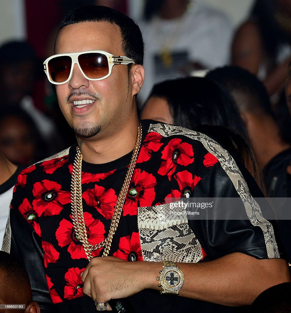 <a gi-track='captionPersonalityLinkClicked' href=/galleries/search?phrase=French+Montana&family=editorial&specificpeople=7131467 ng-click='$event.stopPropagation()'>French Montana</a> attends the Meek Mill and DJ Drama Birthday Celebration at Velvet Room on May 12, 2013 in Chamblee, Georgia.