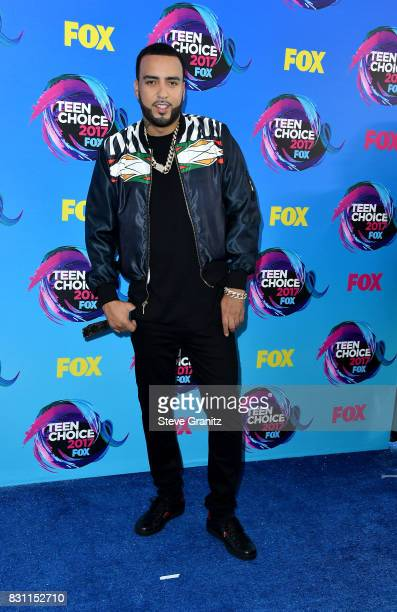 French Montana attends the Teen Choice Awards 2017 at Galen Center on August 13 2017 in Los Angeles California