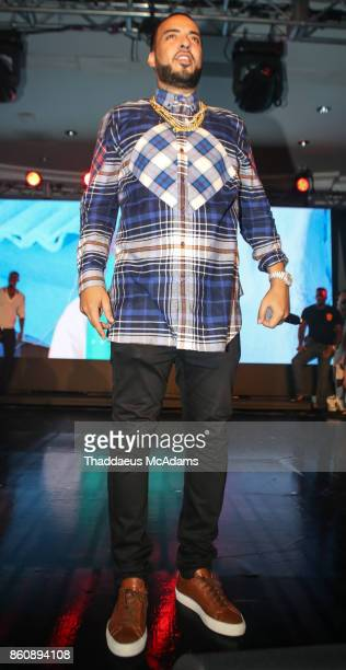French Montana performing at Eden Roc Hotel on October 12 2017 in Miami Beach Florida