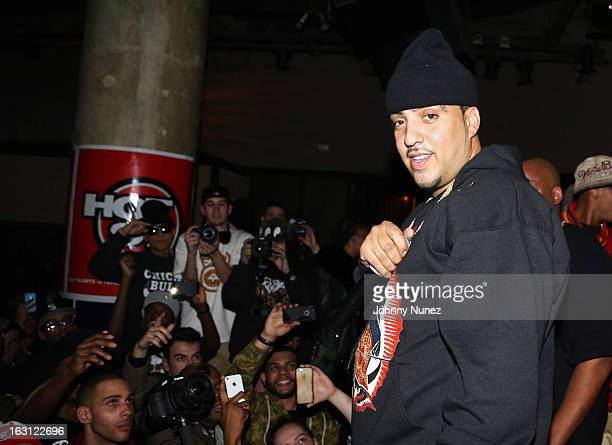French Montana performs at SOB's on March 4 in New York City