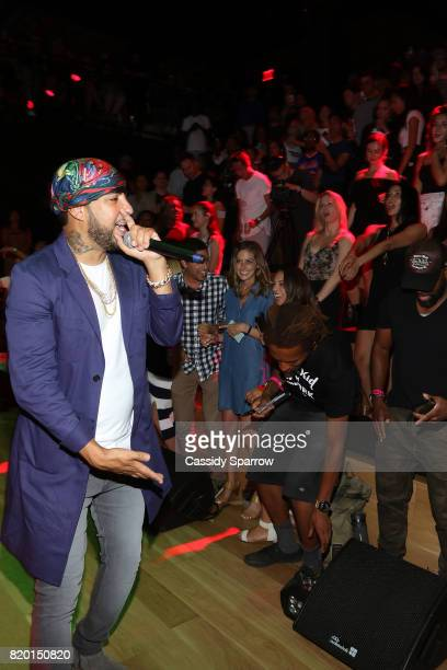 French Montana performs at the French Montana Album Release at Samsung 837 on July 20 2017 in New York City