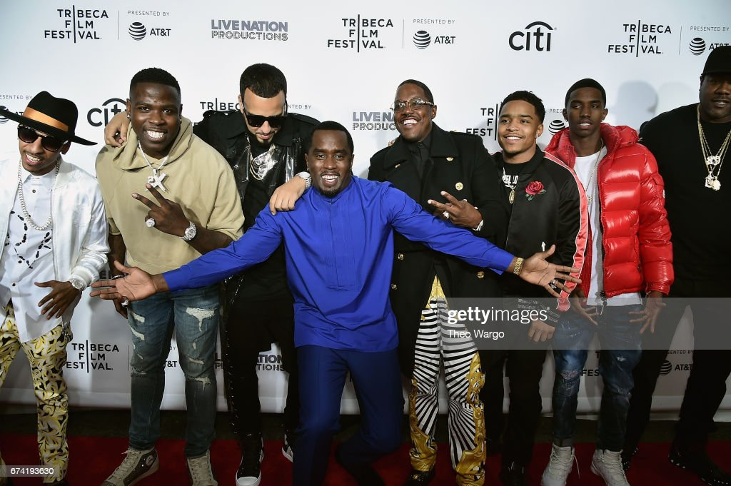 """""""Can't Stop, Won't Stop: The Bad Boy Story"""" Premiere - 2017 Tribeca Film Festival"""