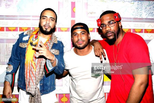 French Montana SoDope and DJ Ferrari attend French Montana PROJECT UNFORGETTABLE 'MY STORY THEIR REALITY' Documentary Screening and Listening Event...