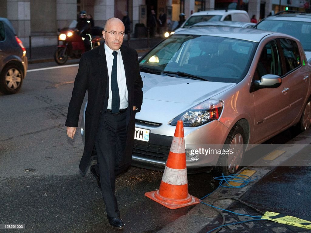 French MP Eric Ciotti arrives at a meeting of the political committee at the UMP headquarters on December 19, 2012 in Paris. UMP President Jean-Francois Cope and former Prime Minister Francois Fillon, the rivals in the leadership row which split French former ruling party, the UMP, agreed on December 17, 2012 to a new internal election after a bitterly-contested first vote last month.