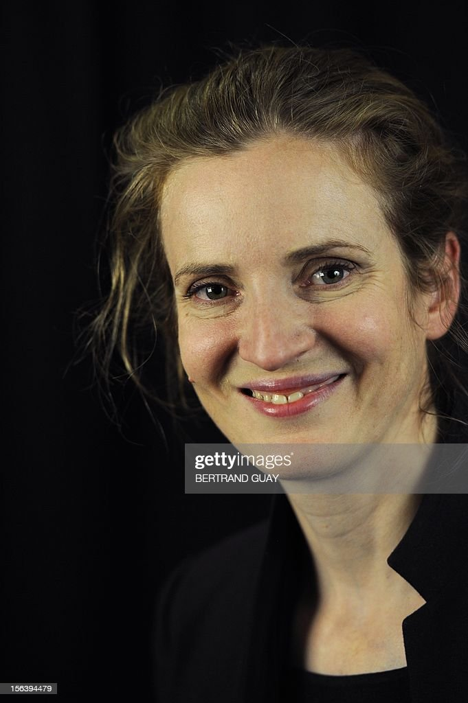 French MP of the Union for a Popular Movement right-wing opposition party (UMP) and former Minister, Nathalie Kosciusko-Morizet poses during the launching of her political movement 'La France Droite', on November 14, 2012 in Paris.