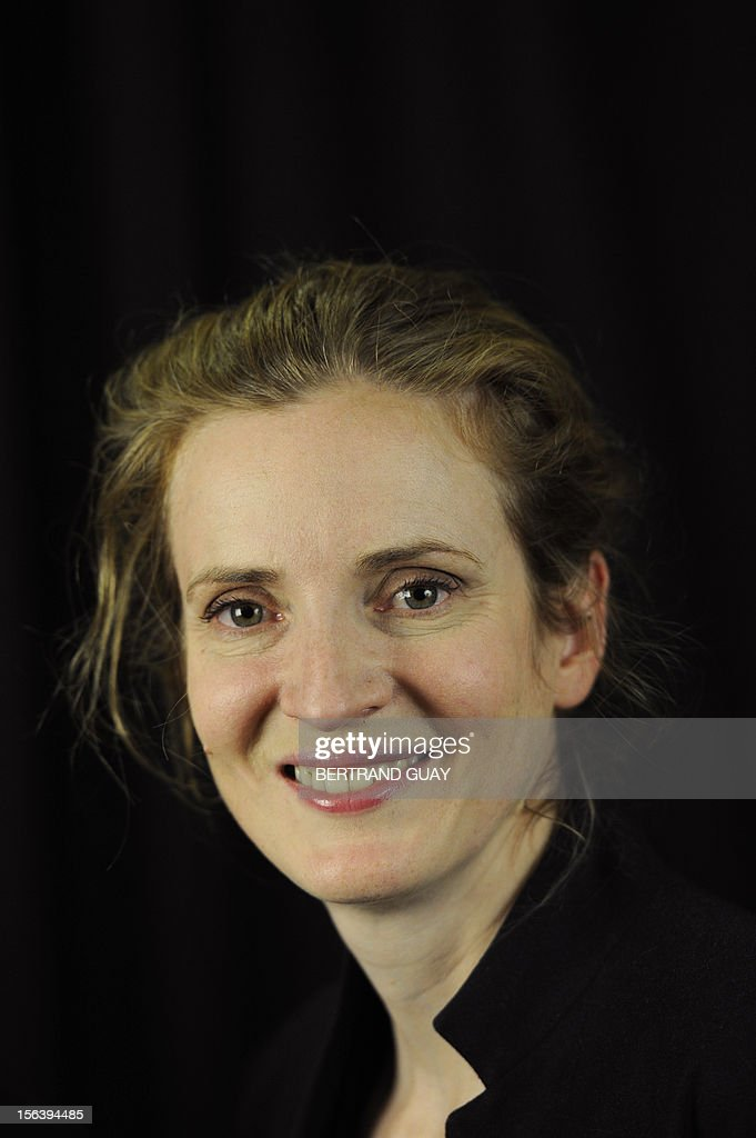 French MP of the Union for a Popular Movement right-wing opposition party (UMP) and former Minister, Nathalie Kosciusko-Morizet poses during the launching of her political movement 'La France Droite', on November 14, 2012 in Paris. AFP PHOTO BERTRAND GUAY