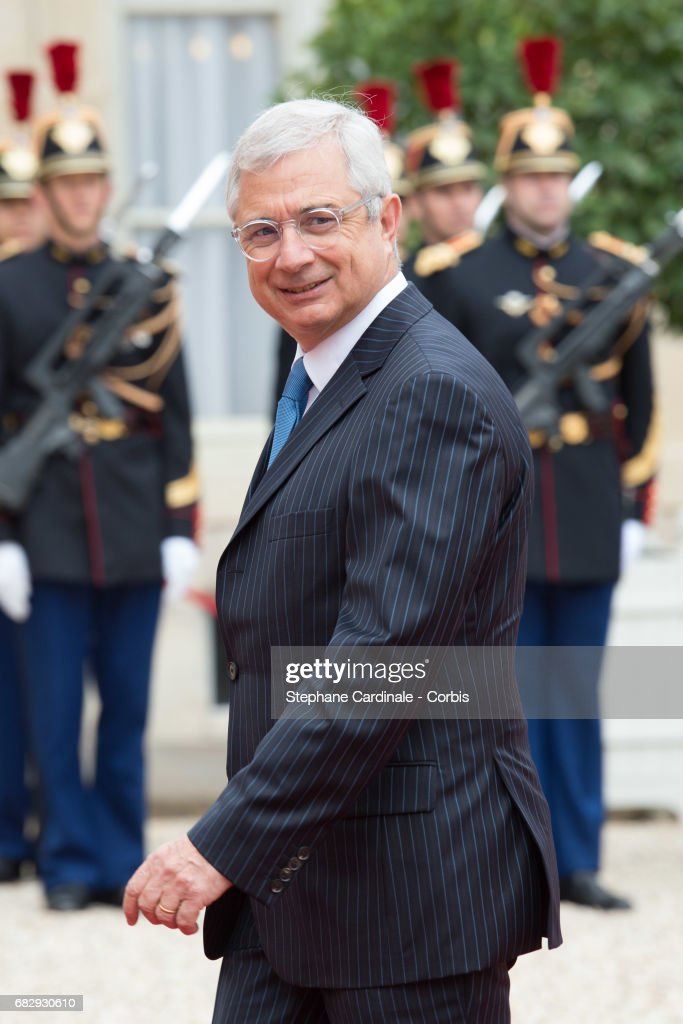 French National Assembly president Claude Bartolone arrives at the Elysee Palace prior to the handover ceremony for New French President Emmanuel Macron at Elysee Palace on May 14, 2017 in Paris, France. Emmanuel Macron was elected President of the French Republic on May 07, 2017 with 66,1 % of the votes cast.