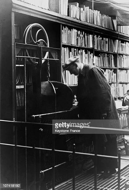 French National Library In Paris On 1936