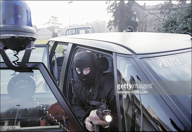 French National SWAT team RAID for the security of the world cup In France On January 20 1998 Simulated arrest security training in preparation for...
