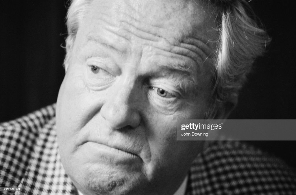 French nationalist politician Jean-Marie Le Pen, 17th August 1987.