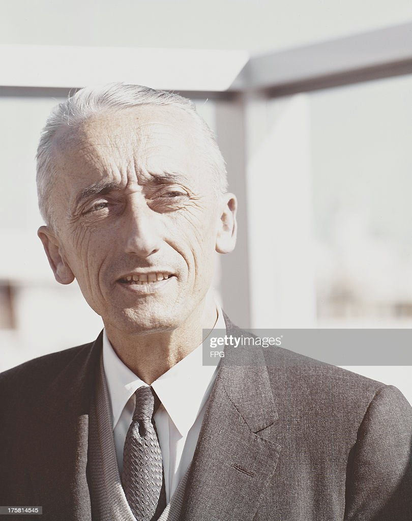 French naval officer and marine researcher Jacques Cousteau (1910 - 1997), circa 1975.