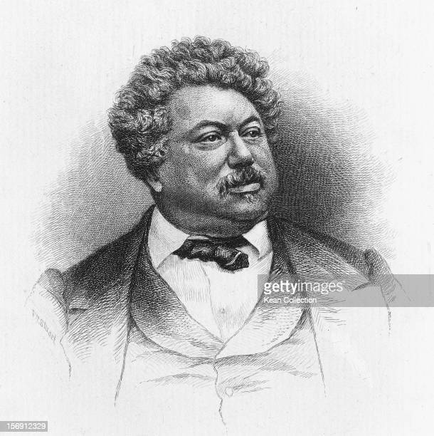 French novelist Alexandre Dumas père circa 1860 He is best known for his works 'The Count of Monte Cristo' and 'The Three Musketeers' By F T Stuart