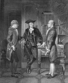 French officer during the American Revolutionary War Johann von Robais Baron de Kalb introduces French aristocrat and military officer Gilbert du...