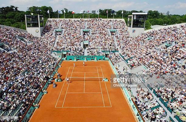 French Open 2003 Paris Court Suzanne Lenglen