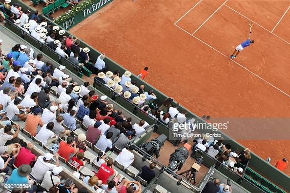 2017 French Open Tennis Tournament. Roland Garros. Paris. France. : Photo d'actualité