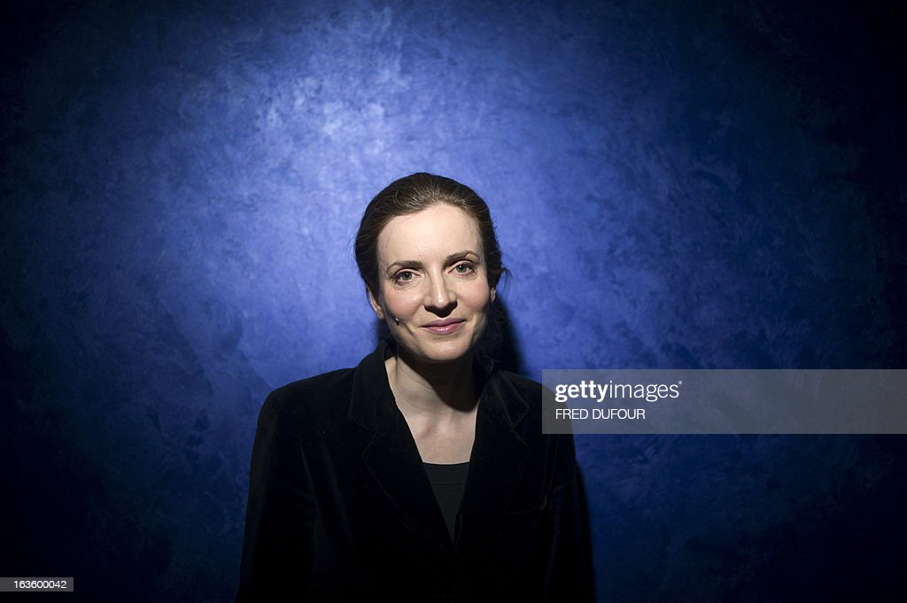 French opposition right-wing UMP party member and former French environment minister Nathalie Kosciusko-Morizet poses after giving a press conference focused on education, on March 13, 2013 in Paris. AFP PHOTO / FRED DUFOUR