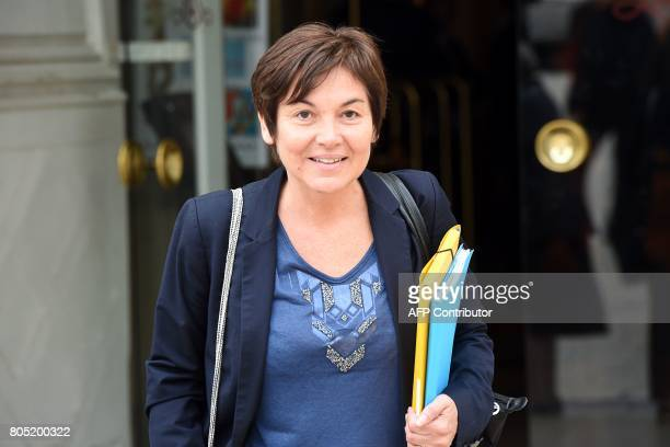 French Overseas Minister Annick Girardin arrives prior to the Government seminar in Nancy on July 1 2017 / AFP PHOTO / François LO PRESTI