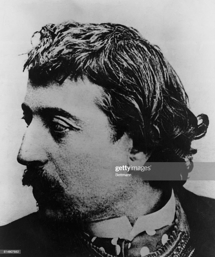French painter and woodcut artist, <a gi-track='captionPersonalityLinkClicked' href=/galleries/search?phrase=Paul+Gauguin&family=editorial&specificpeople=99058 ng-click='$event.stopPropagation()'>Paul Gauguin</a>.