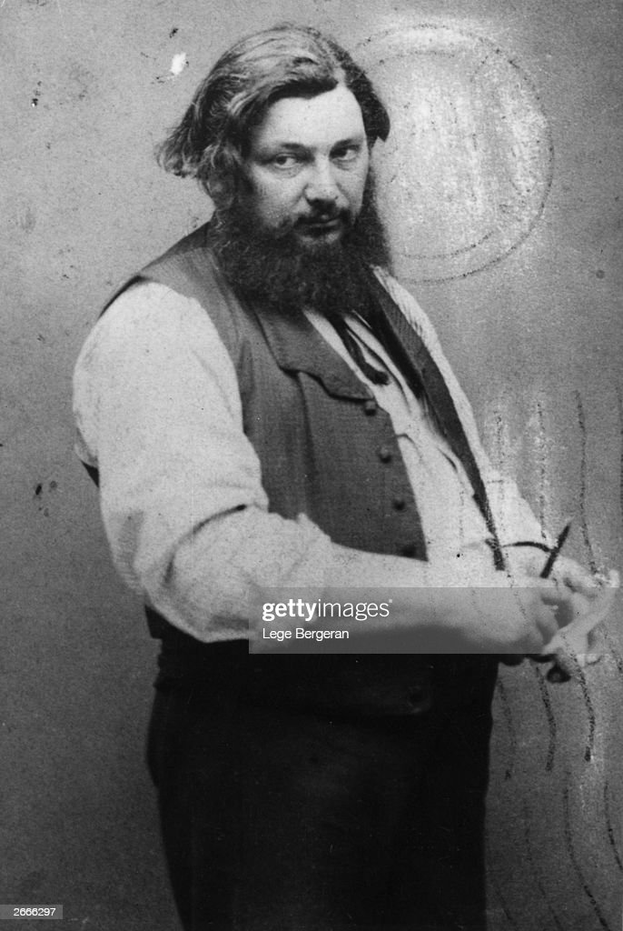 French painter Gustave Courbet an instrumental figure in the Realist school of painting