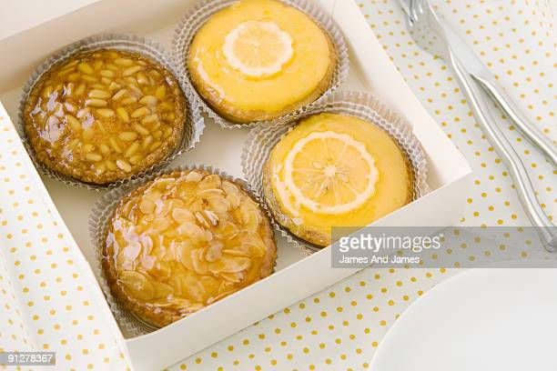 French Pastries in Box
