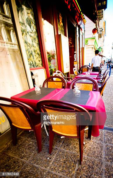 French pavement cafe