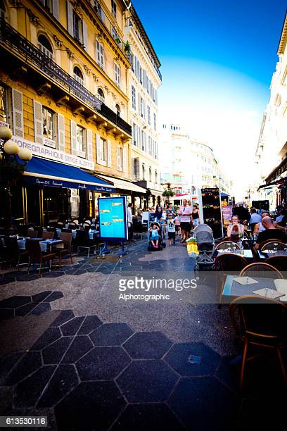 French pavement cafes