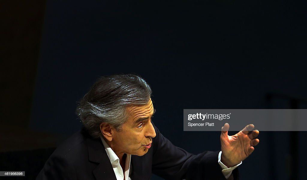 French philosopher and writer <a gi-track='captionPersonalityLinkClicked' href=/galleries/search?phrase=Bernard-Henri+Levy&family=editorial&specificpeople=793270 ng-click='$event.stopPropagation()'>Bernard-Henri Levy</a> speaks to the United Nations General Assembly at a meeting devoted to anti-Semitism on January 22, 2015 in New York City. The day long meeting features speeches by Canadian, German and French ministers and US Ambassador Samantha Power. An afternoon session and panel includes a discussion by human rights experts including an Israeli professor. The meeting, the first ever for the UN, was scheduled before the recent attacks in France. supermarket in Paris.