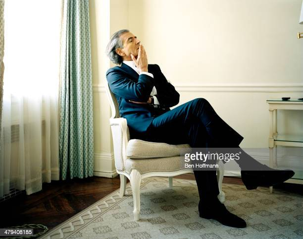 French philosopher BernardHenri Levy is photographed for Wall Street Journal on January 13 2011 in New York City PUBLISHED IMAGE