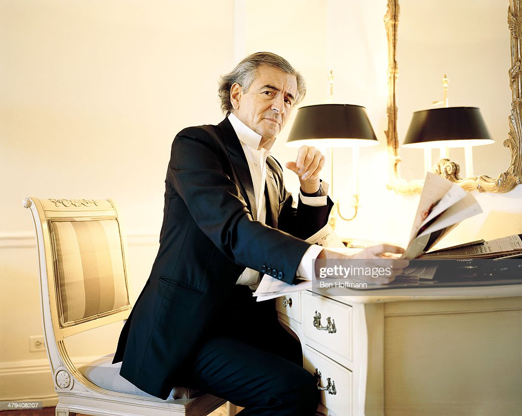 French philosopher Bernard-Henri Levy is photographed for Wall Street Journal on January 13, 2011 in New York City. PUBLISHED IMAGE.