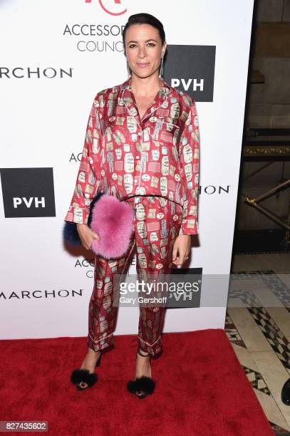 French photographer illustrator and author Garance Doré attends the 21st Annual Ace Awards hosted by the Accessories Council at Cipriani 42nd Street...