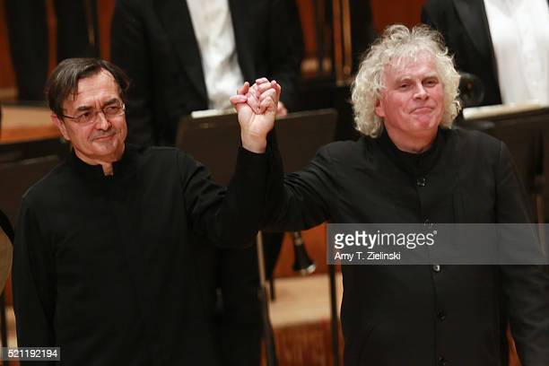 French pianist PierreLaurent Aimard receives th audience after performing composer Olivier Messiaen's 'Couleurs de la cite celeste' on the piano as...