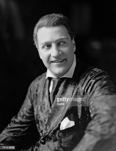 French playwright actor and director Sacha Guitry circa 1925