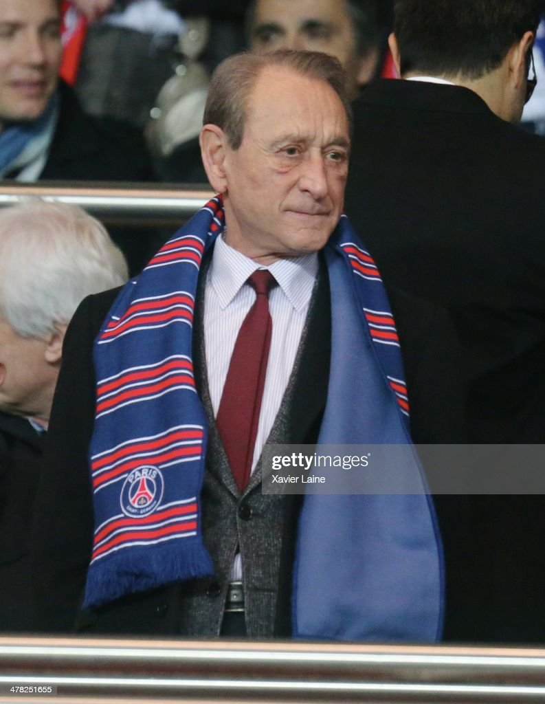 French politician <a gi-track='captionPersonalityLinkClicked' href=/galleries/search?phrase=Bertrand+Delanoe&family=editorial&specificpeople=206163 ng-click='$event.stopPropagation()'>Bertrand Delanoe</a> attends the UEFA Champions League between Paris Saint-Germain FC and Bayer Leverkusen FC at Parc Des Princes on March 12, 2014 in Paris, France.