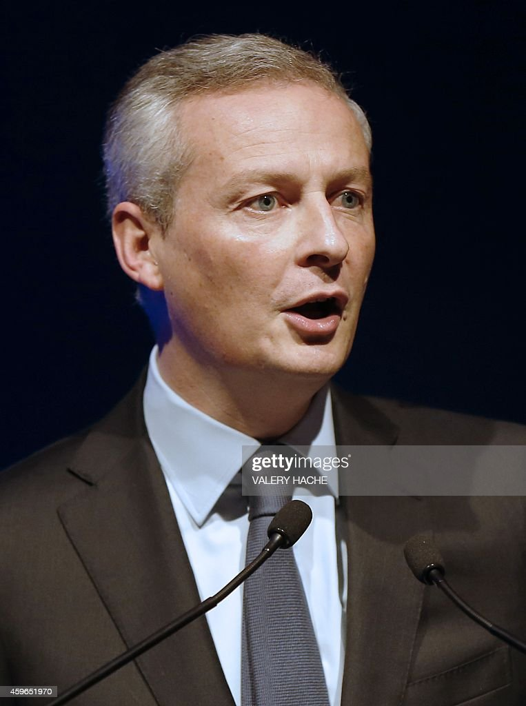French politician Bruno Le Maire candidate for the presidency of