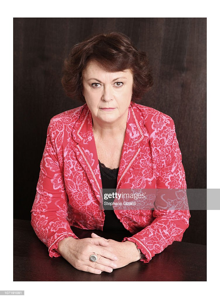 French politician <a gi-track='captionPersonalityLinkClicked' href=/galleries/search?phrase=Christine+Boutin&family=editorial&specificpeople=4055950 ng-click='$event.stopPropagation()'>Christine Boutin</a> poses at a portrait session in Paris November 2010.