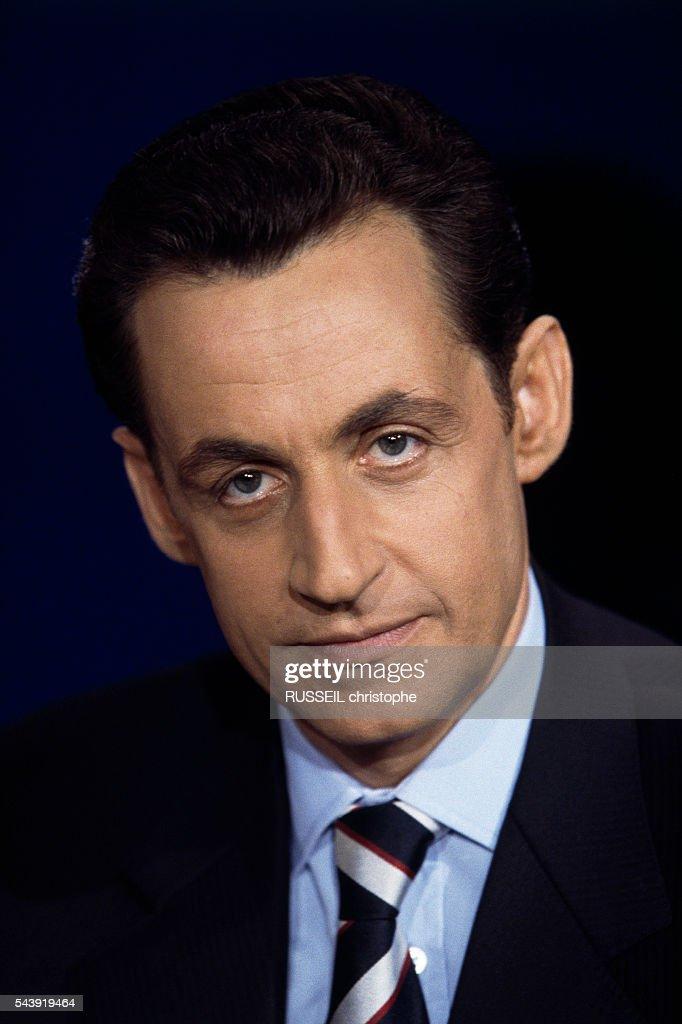 French Politician Nicolas Sarkozy